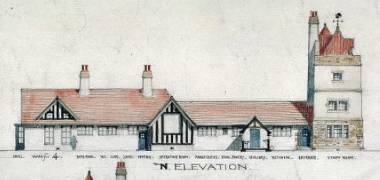 1908 runner up Blantyre Cottage Hospital