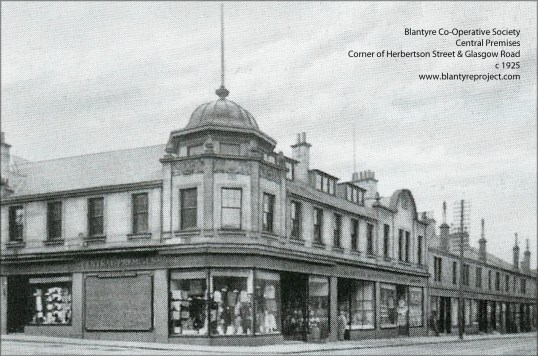 1925 Blantyre Co-operative central premises