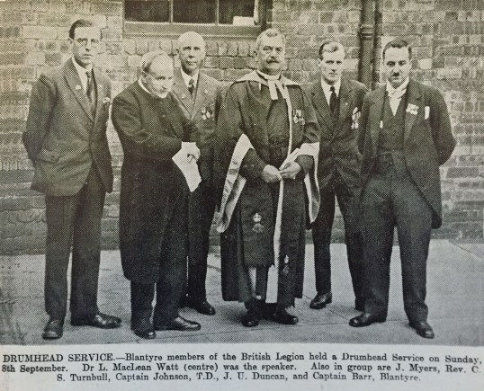 1929 Drumhead Service Tunrbull & Barr