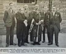1929 Drumhead Service