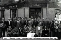 1954 Cosy Corner Pub Darts Team. Shared by J Sanderson