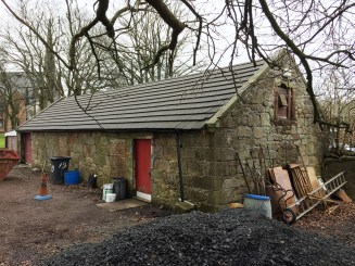 2016 April 3rd Manse Byre at Kirkton by AR
