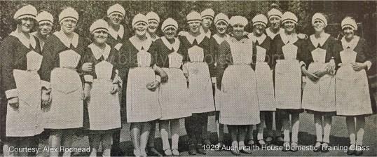 1929 Auchinraith House Domestic Service copy