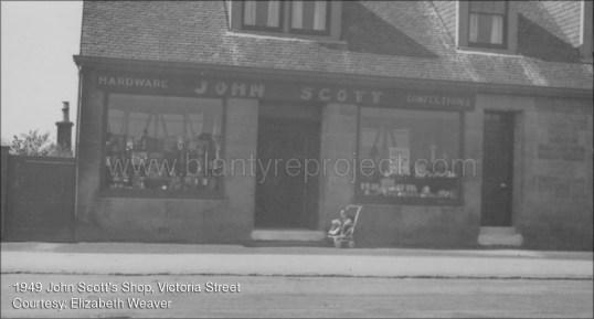 1949 John Scotts Shop Victoria Street
