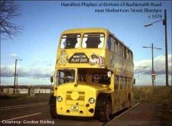 1979 Playbus at Auchinraith Rd