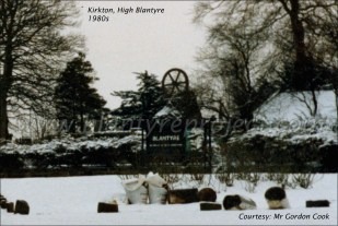 1980s Kirkton Pit disaster monument by GC