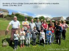 2016 Priory Bridge Residents plant meadow