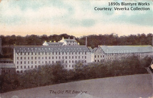 1890s The Old Mill, Blantyre wm