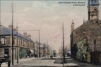 1910 Glasgow Road looking east