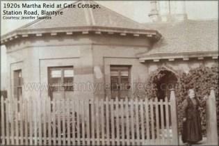 1922 Gate Cottage and Martha Reid