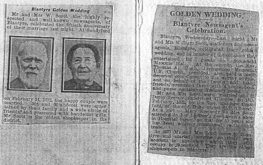 1922 From the Hamilton Advertiser