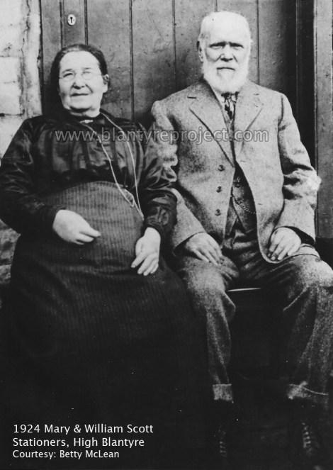 1924 William & Mary Scott Stationers wm