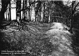 1930s Rampart at Blantyre Priory