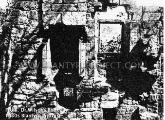 1920s or 30s Blantyre Priory from Dr Wilsons Book