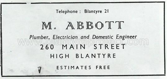 1950 Abbot plumber ad wm
