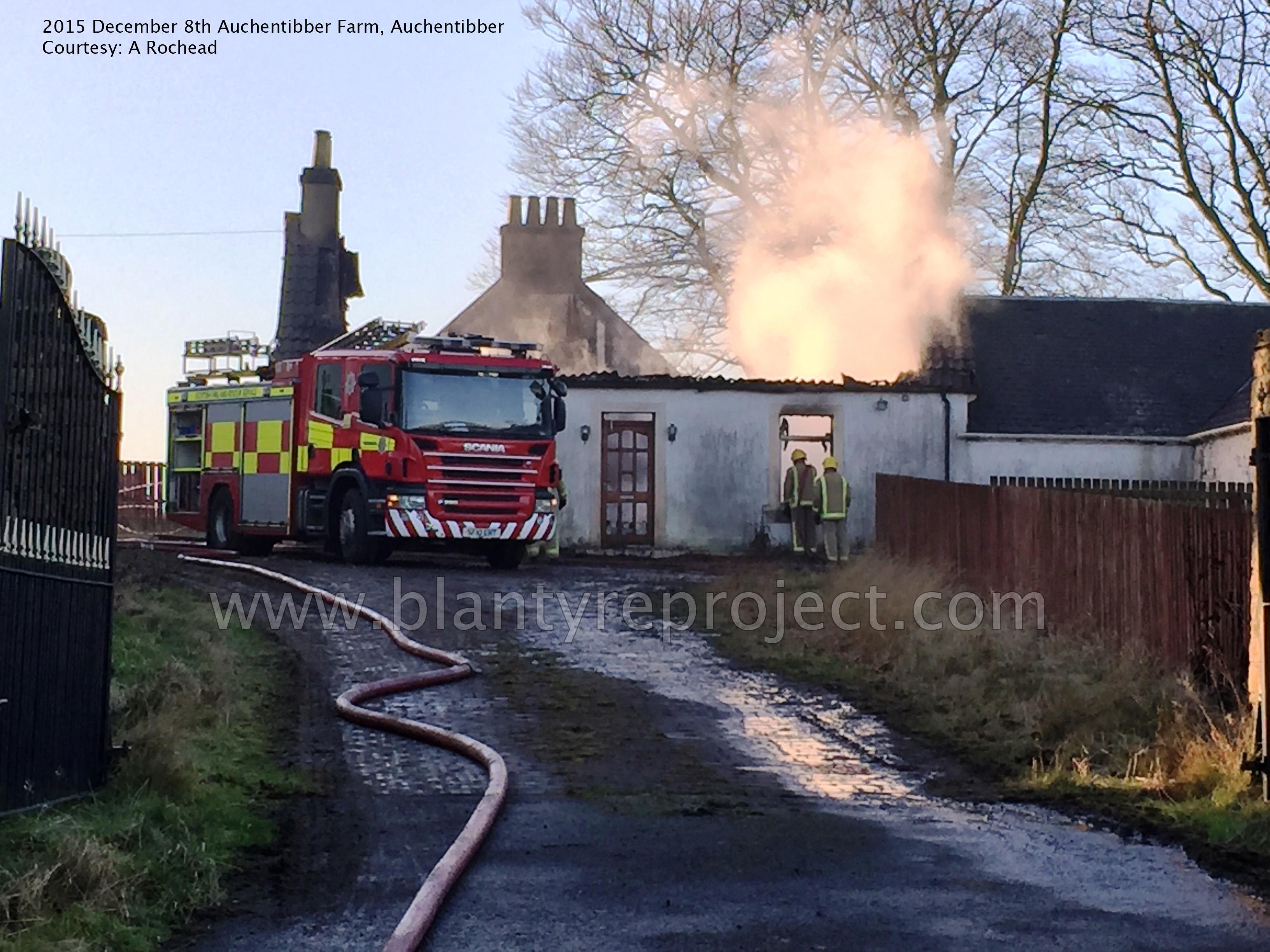 2015 Auchentibber Farm on Fire