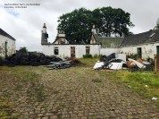 2016 Auchentibber Farm, now fly tipping site