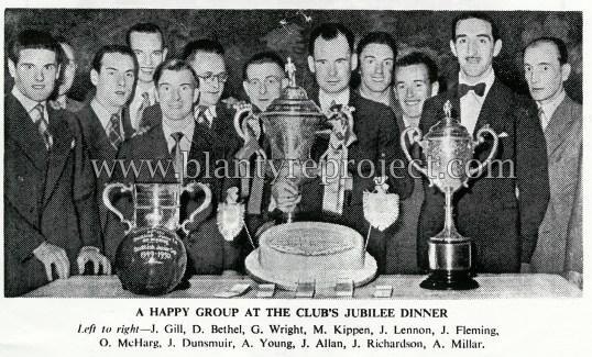 1950 Jubillee vics wm dinner
