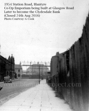 1943 Co-Emporium, later Clydesdale Bank built