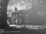 1967 Greenhall House before demolition