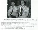 1982 Dally and Hughie at Vics