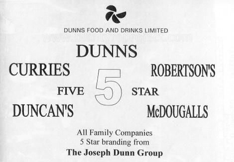 2004 Dunns Advert wm