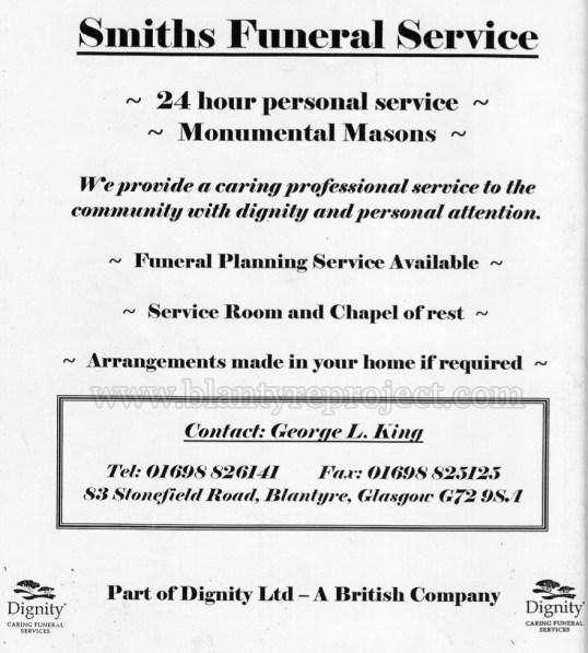 2004 Smiths Funerals Advert wm