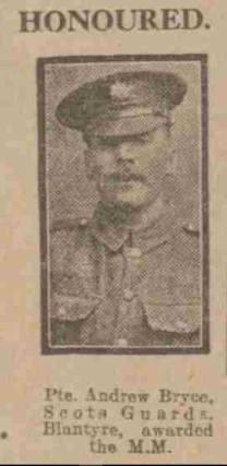 1917 Andrew Bryce