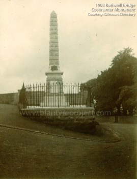 1903 Monument at Bothwell Bridge
