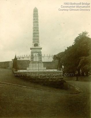 1903 Monument at Bothwell Bridge