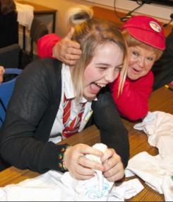 2011 Krankies visit St Blanes (PV)