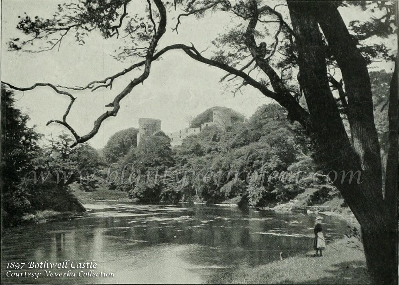 1897 Bothwell Castle River Clyde