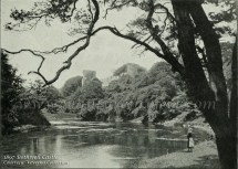 1897 Bothwell Castle River Clyde