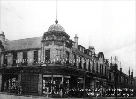 1930s Central Co-op Premises, Blantyre