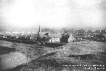 1950s Stonefield Road from Larkfield