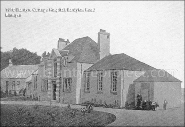 1910 Blantyre Cottage Hospital opens