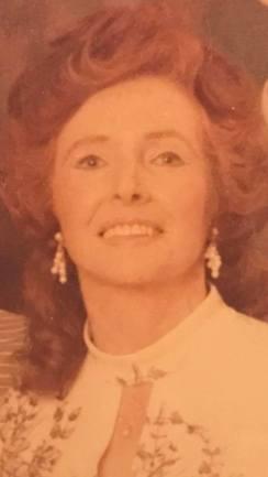 1970s Jean Gibson or Dorricott (nee Stewart)