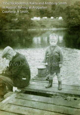 1952 Nickodemus Kakta and grandson Anthony Smith