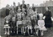 1950 Priory Street Coronation Party from Margaret Campbell