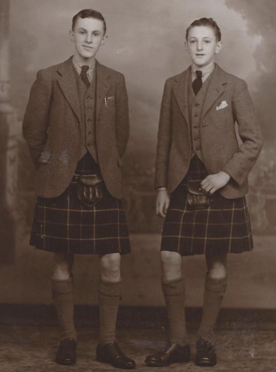 1946 Goerge & John Crawford