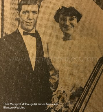 1967 James Anderson & Margaret McDougall