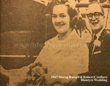 1967 Morag Russell & Robert Crothers