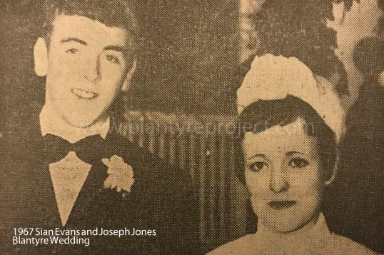1967 Sian Evans and Joseph Jones wm