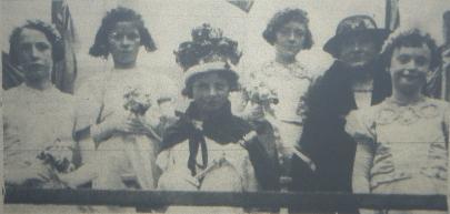 1937 Helen McLelland First Gala Queen