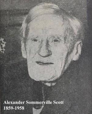 1958 Alexander Sommerville Scott