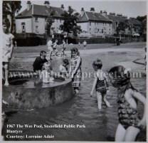 1967 Stonefield Public Park small pool
