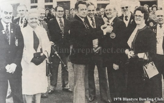 1978 Blantyre Bowling Club wm