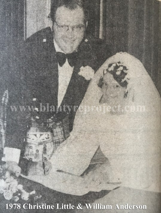 1978 Christine Little & William Anderson wm
