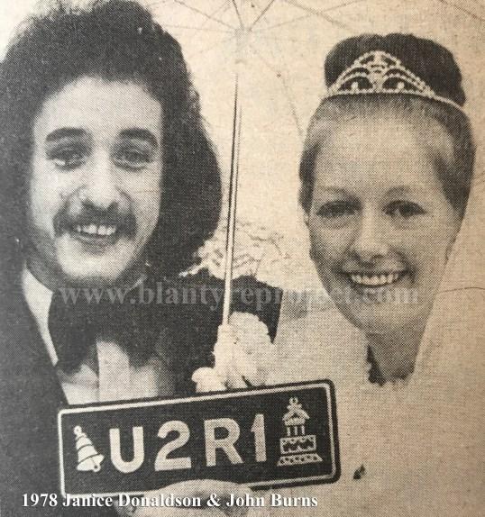 1978 Janice Donaldson & John Burns wm