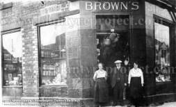 1920 Brown's Ironmongery shop